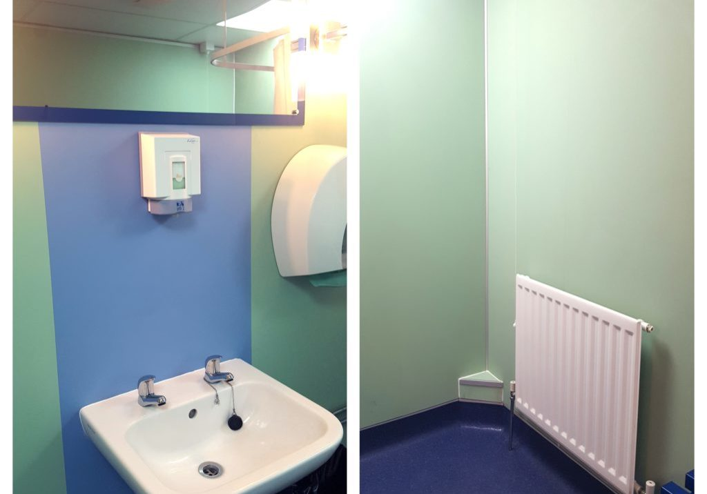 Fibo wall panels installed in Broxtowe retirement living scheme